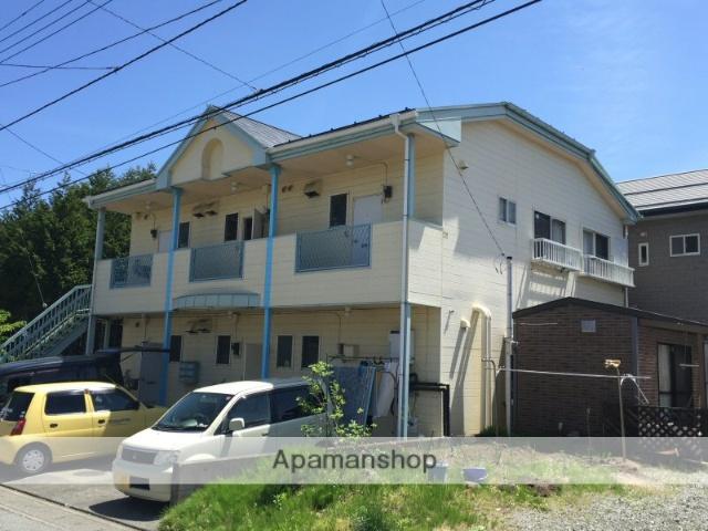 山梨県富士吉田市、富士山駅徒歩23分の築28年 2階建の賃貸アパート
