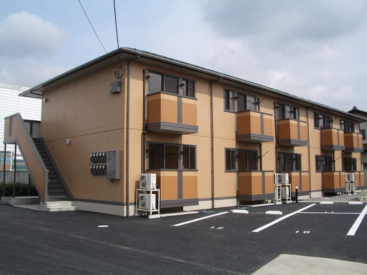 山梨県甲斐市、竜王駅徒歩30分の築10年 2階建の賃貸アパート