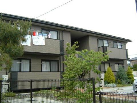 山梨県甲斐市、竜王駅徒歩18分の築17年 2階建の賃貸アパート
