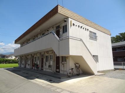 山梨県甲斐市、竜王駅徒歩18分の築32年 2階建の賃貸アパート