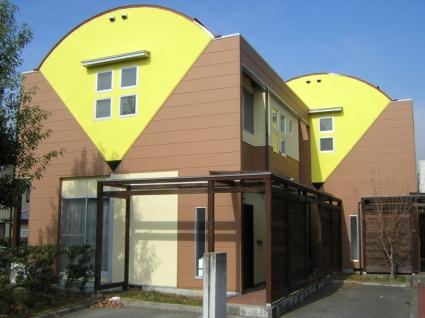 山梨県中巨摩郡昭和町、国母駅徒歩5分の築25年 2階建の賃貸テラスハウス