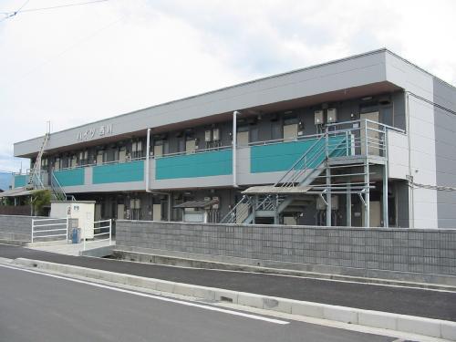 山梨県中央市の築26年 2階建の賃貸マンション