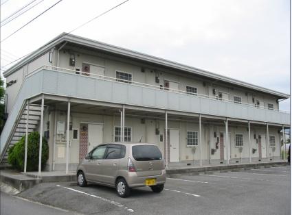 山梨県中央市、東花輪駅徒歩15分の築31年 2階建の賃貸アパート