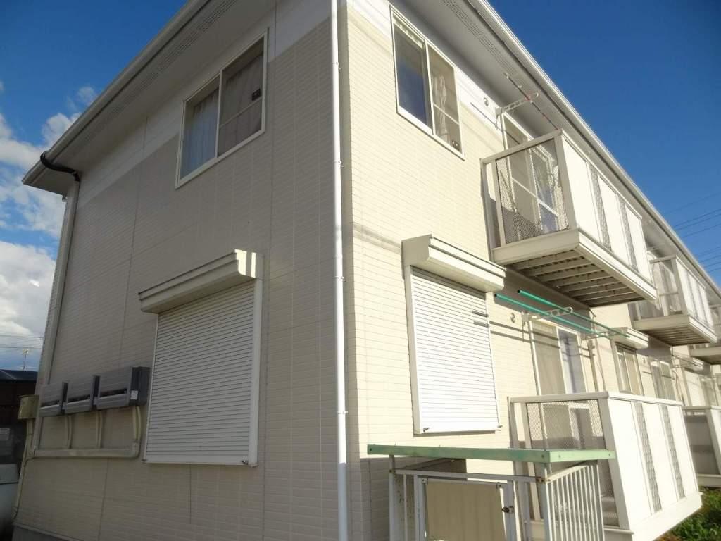 山梨県中央市、東花輪駅徒歩25分の築20年 2階建の賃貸アパート