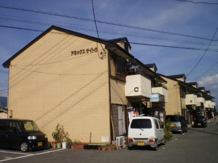 山梨県甲斐市、竜王駅徒歩15分の築24年 2階建の賃貸アパート