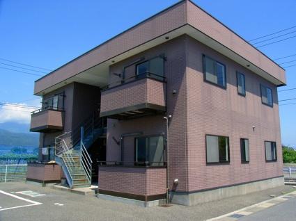 山梨県南アルプス市の築18年 2階建の賃貸アパート