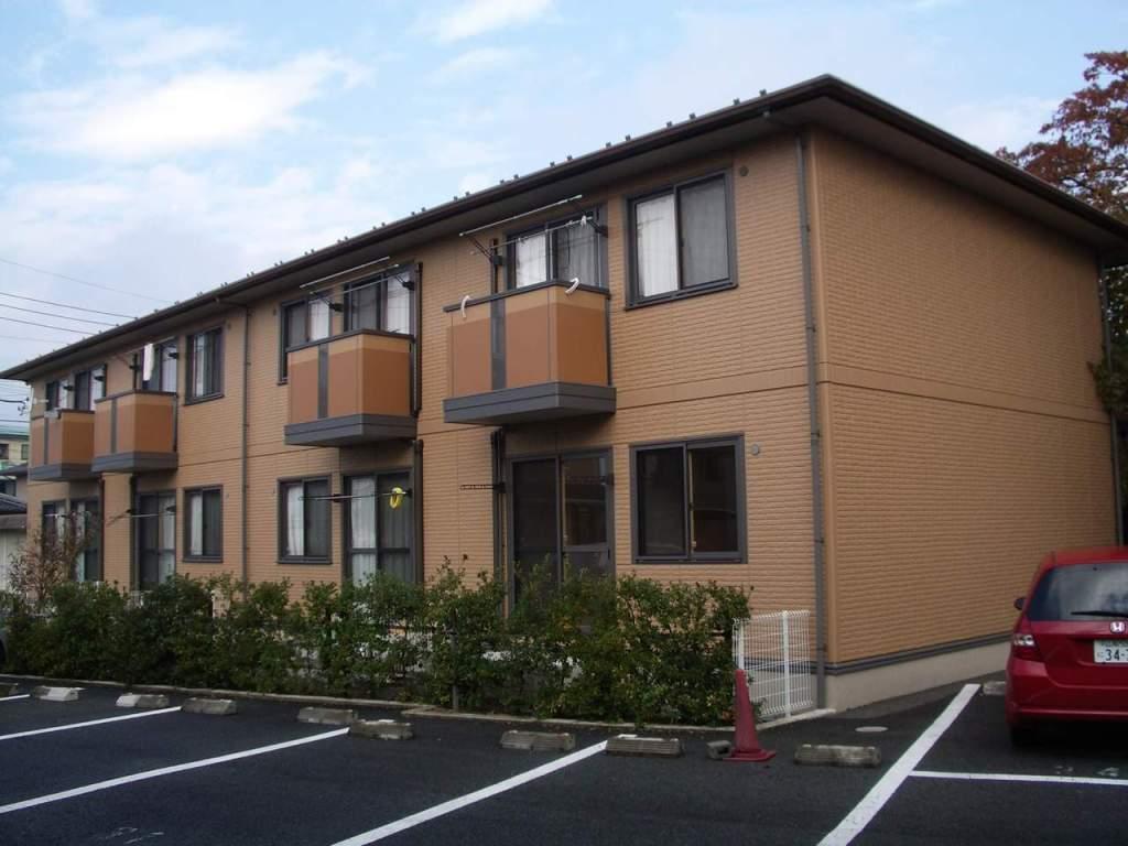 山梨県甲斐市、竜王駅徒歩36分の築11年 2階建の賃貸アパート