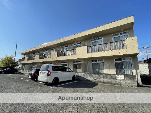 山梨県甲斐市、竜王駅徒歩10分の築31年 2階建の賃貸アパート