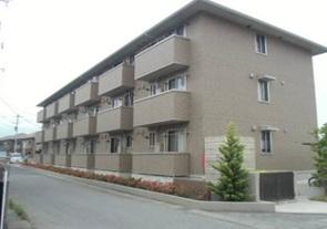 山梨県甲府市、甲斐住吉駅徒歩30分の築6年 3階建の賃貸アパート