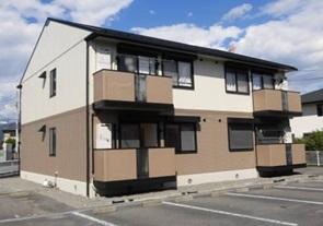 山梨県甲斐市、竜王駅徒歩22分の築20年 2階建の賃貸アパート