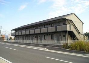 山梨県甲斐市、竜王駅徒歩26分の築14年 2階建の賃貸アパート