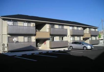 山梨県甲斐市、竜王駅徒歩17分の築6年 2階建の賃貸アパート