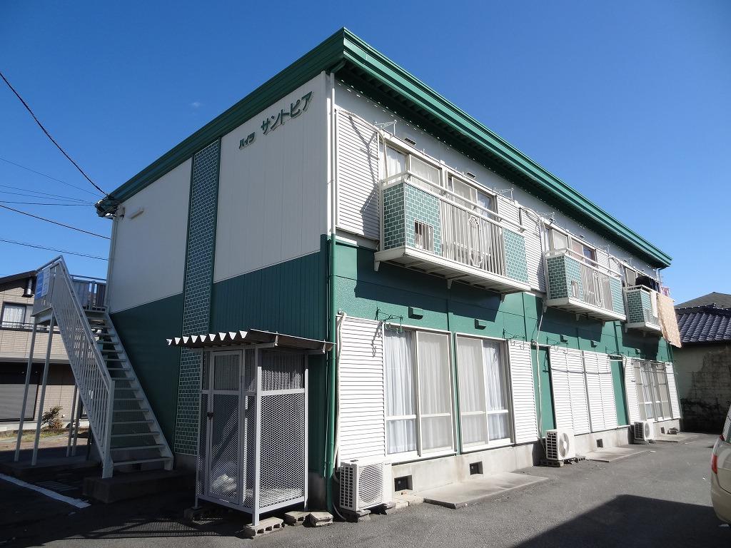 山梨県南アルプス市、東花輪駅徒歩43分の築27年 2階建の賃貸アパート