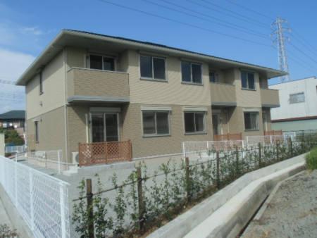 山梨県中巨摩郡昭和町の築3年 2階建の賃貸アパート