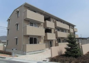 山梨県甲斐市、竜王駅徒歩21分の築4年 3階建の賃貸アパート