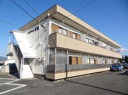 山梨県甲斐市、竜王駅徒歩50分の築23年 2階建の賃貸アパート