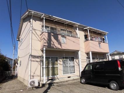 山梨県甲斐市、竜王駅徒歩48分の築22年 2階建の賃貸アパート