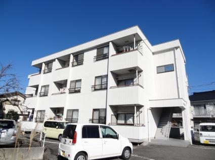 山梨県甲斐市の築23年 3階建の賃貸アパート