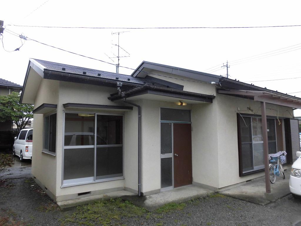山梨県甲斐市の築40年 1階建の賃貸一戸建て