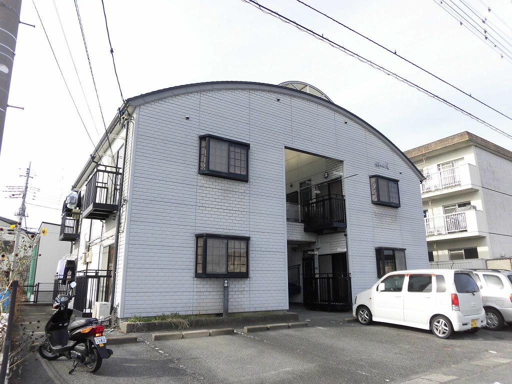 山梨県中巨摩郡昭和町、常永駅徒歩15分の築22年 2階建の賃貸アパート