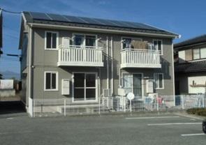 山梨県南アルプス市、塩崎駅徒歩64分の築12年 2階建の賃貸アパート