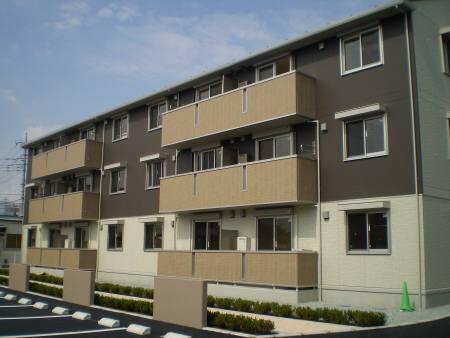 山梨県甲府市、国母駅徒歩13分の築5年 3階建の賃貸アパート