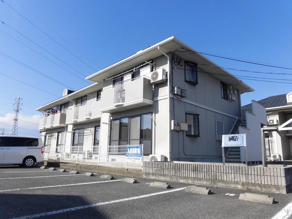 山梨県甲斐市、常永駅徒歩45分の築23年 2階建の賃貸アパート