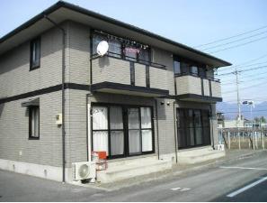 山梨県甲斐市、常永駅徒歩36分の築17年 2階建の賃貸アパート