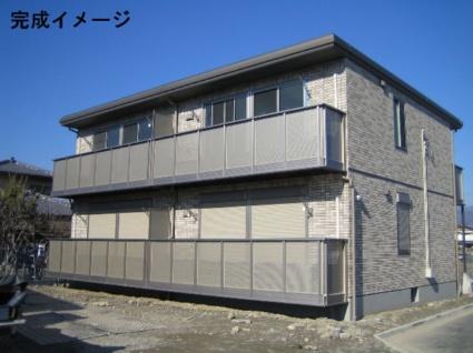 山梨県甲斐市、竜王駅徒歩34分の築8年 2階建の賃貸アパート