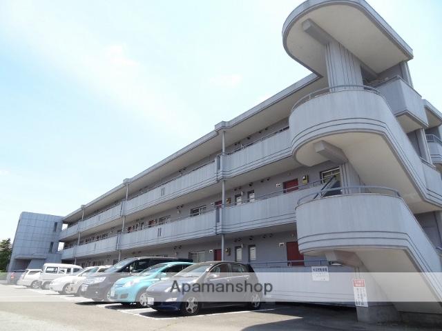 山梨県甲斐市、竜王駅徒歩15分の築31年 3階建の賃貸マンション