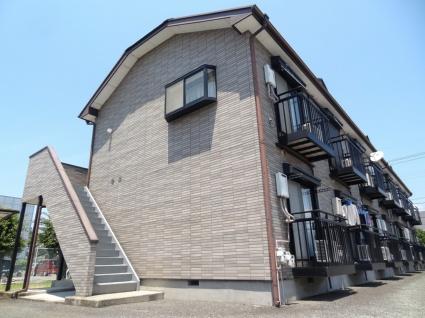 山梨県甲斐市、竜王駅徒歩15分の築19年 2階建の賃貸アパート