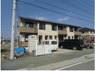 山梨県中央市、常永駅徒歩17分の築1年 2階建の賃貸アパート