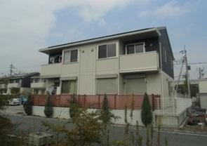 山梨県中央市、東花輪駅徒歩25分の築7年 2階建の賃貸テラスハウス
