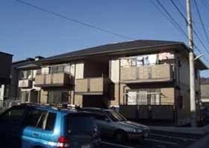 山梨県甲府市、甲府駅徒歩38分の築17年 2階建の賃貸アパート