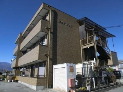 山梨県中巨摩郡昭和町、国母駅徒歩11分の築18年 3階建の賃貸マンション