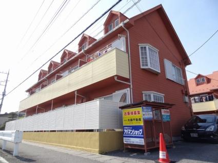 山梨県中央市、常永駅徒歩16分の築29年 2階建の賃貸アパート