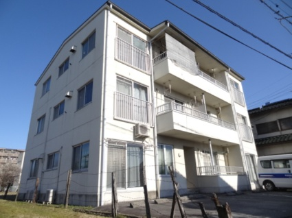 山梨県甲府市、甲斐住吉駅徒歩15分の築21年 3階建の賃貸マンション