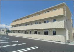 山梨県中巨摩郡昭和町、国母駅徒歩19分の築1年 3階建の賃貸アパート