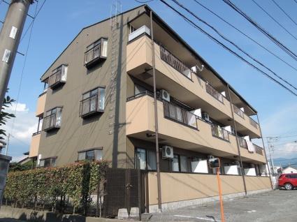 山梨県甲府市、国母駅徒歩25分の築20年 3階建の賃貸アパート