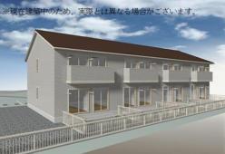 山梨県中巨摩郡昭和町、国母駅徒歩26分の新築 2階建の賃貸アパート
