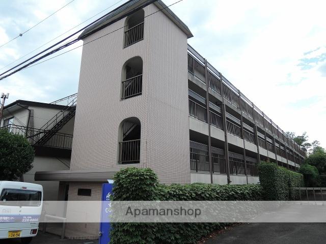 山梨県甲府市、酒折駅徒歩11分の築25年 4階建の賃貸マンション