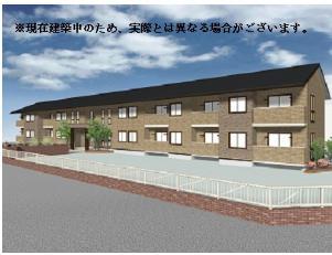 山梨県中巨摩郡昭和町、常永駅徒歩11分の新築 2階建の賃貸アパート
