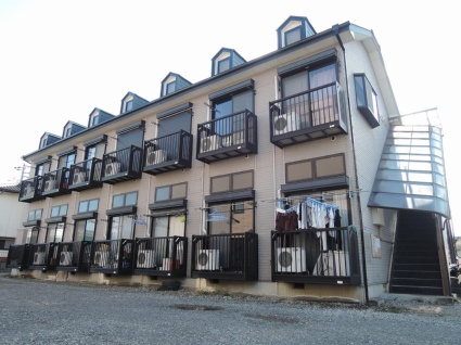 山梨県甲府市の築21年 2階建の賃貸アパート