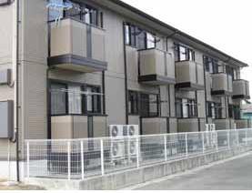 山梨県甲府市、国母駅徒歩53分の築15年 2階建の賃貸アパート