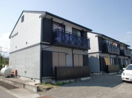山梨県南アルプス市の築19年 2階建の賃貸アパート