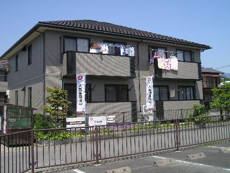 山梨県甲斐市、竜王駅徒歩25分の築17年 2階建の賃貸アパート