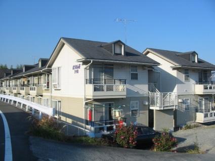 山梨県韮崎市の築22年 2階建の賃貸アパート