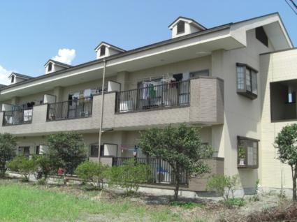 山梨県南アルプス市の築28年 2階建の賃貸アパート