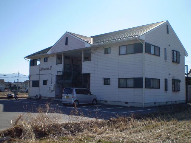 山梨県甲斐市、竜王駅徒歩15分の築22年 2階建の賃貸アパート