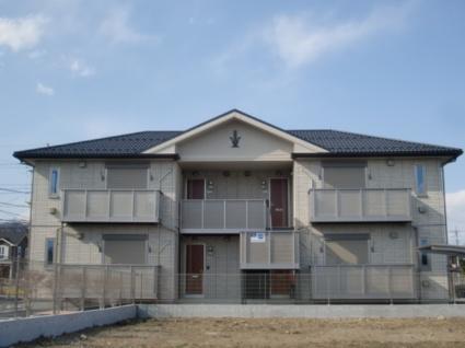 山梨県南アルプス市の築6年 2階建の賃貸アパート